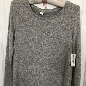 NWT - Grey Tunic sweater - Old Navy